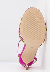 Guess - KALISTA - Sandalias de tacón - pink - 6