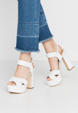 JANIA - High Heel Sandalette - white
