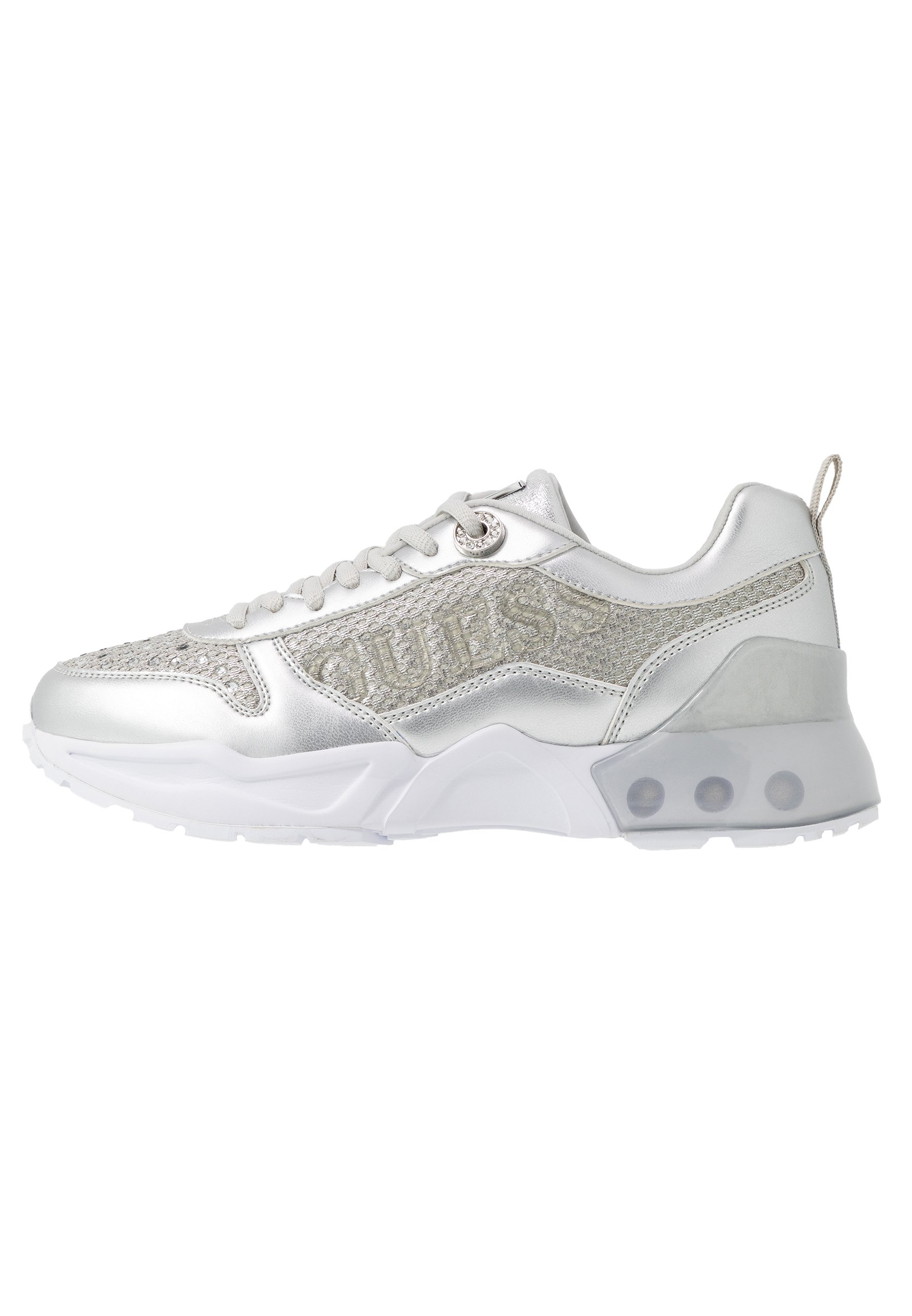 Guess TANDEY - Sneakersy niskie - argent