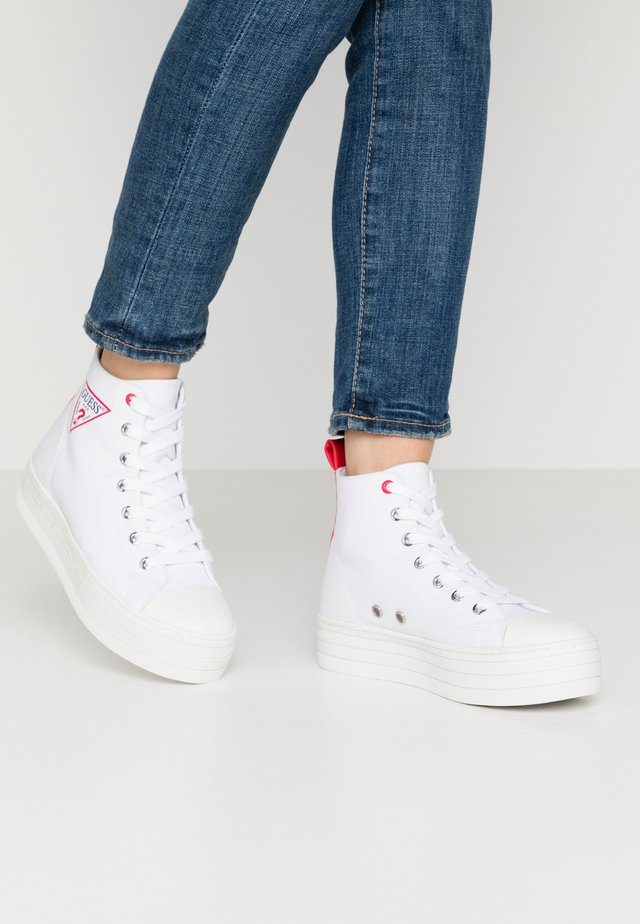BOKAN - Sneakers alte - white