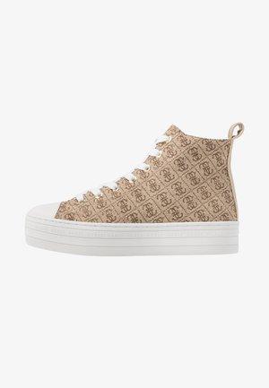 BOKAN5 - Sneakers hoog - beige/light brown