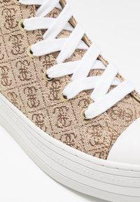 Guess - BOKAN5 - Baskets montantes - beige/light brown - 2