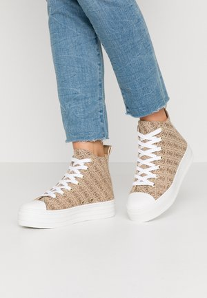 BOKAN5 - Sneakersy wysokie - beige/light brown