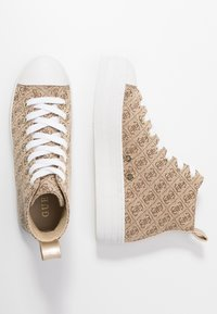 Guess - BOKAN5 - Baskets montantes - beige/light brown - 3