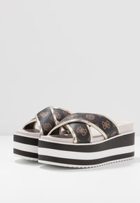 Guess - REMINA - Pantofle na podpatku - multicolor - 4