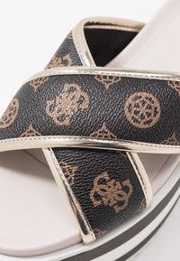 Guess - REMINA - Pantofle na podpatku - multicolor - 2