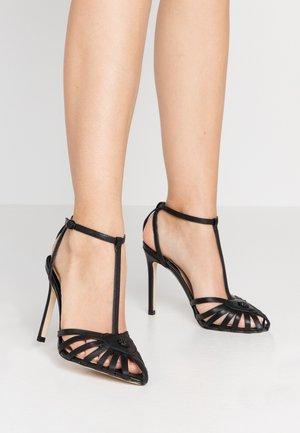 CICADA - High heeled sandals - black