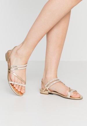 RAVENA - Sandals - gold