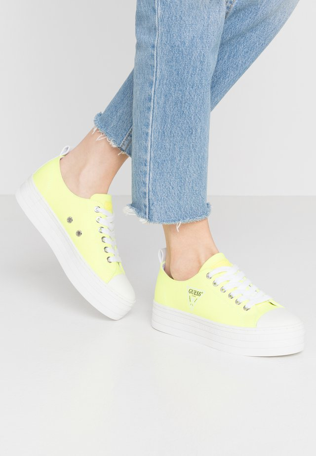 BRIGS - Sneakers basse - yello
