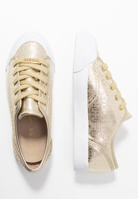 Guess - GITNEY - Sneakers laag - gold - 3
