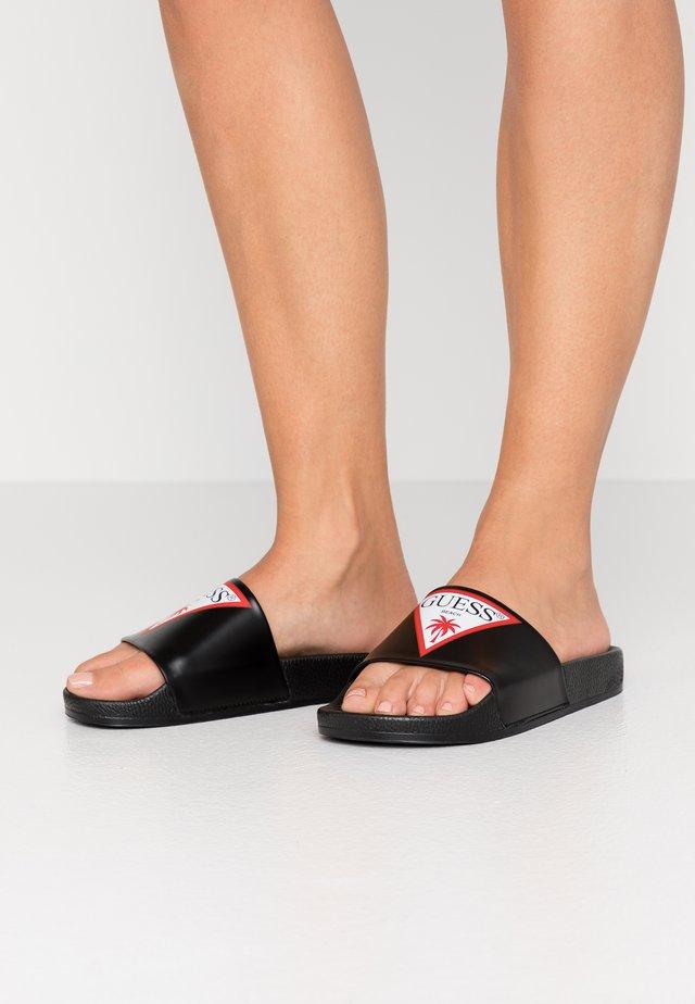 Sandály do bazénu - black