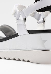 Guess - LESSA - Platform sandals - white - 2