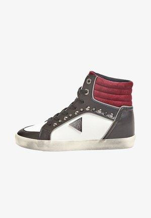 MIT NIETEN - Sneakers laag - bordeaux