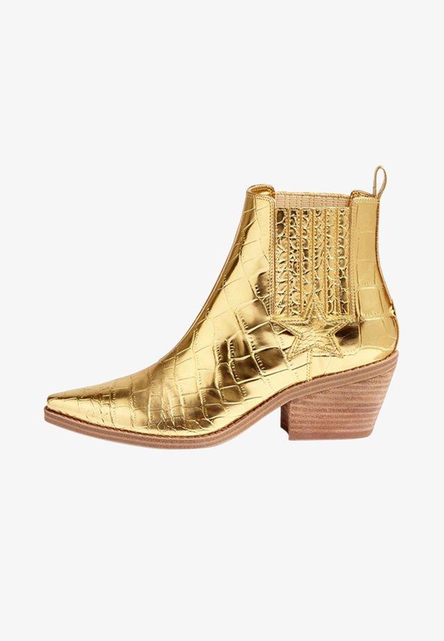 Korte laarzen - gold