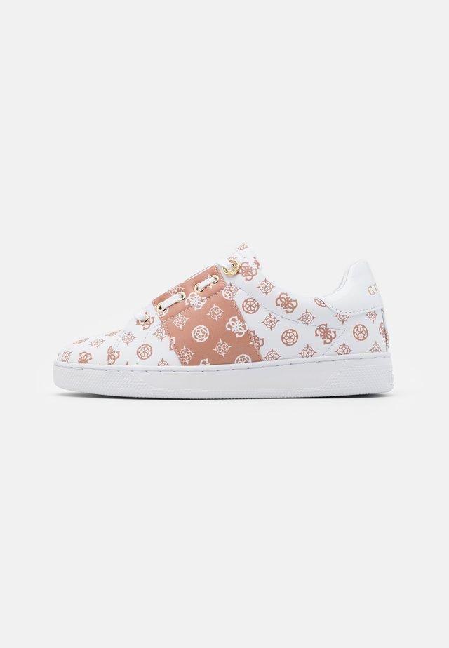 REJEENA - Sneakers basse - white/beige