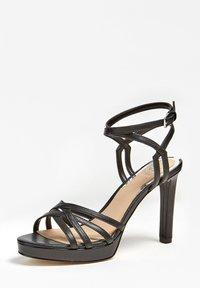 Guess - SANDALO BEACHIE VERA PELLE - High heeled sandals - nero - 2