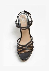 Guess - SANDALO BEACHIE VERA PELLE - High heeled sandals - nero - 1