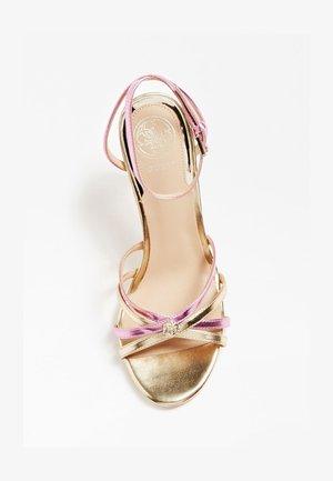 SANDALO KALISTA LAMINATO - High heeled sandals - rosa
