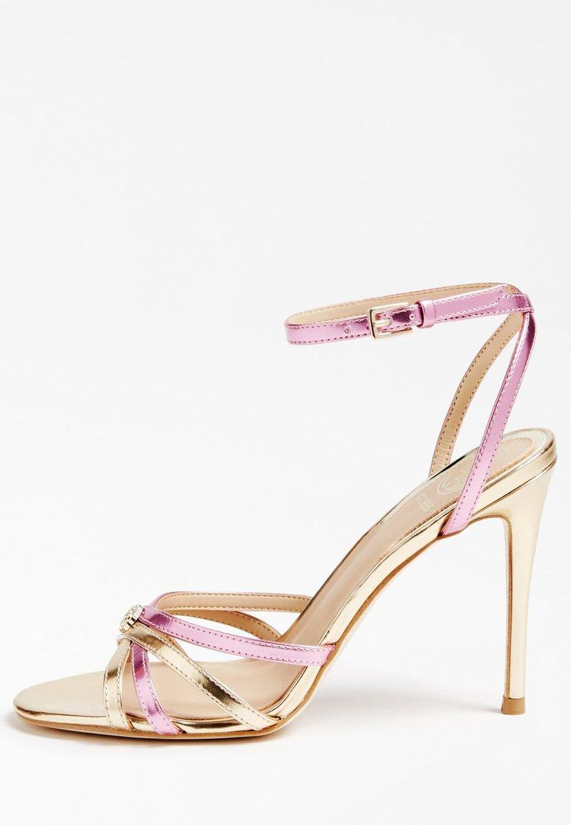 Guess - SANDALO KALISTA LAMINATO - High heeled sandals - rosa