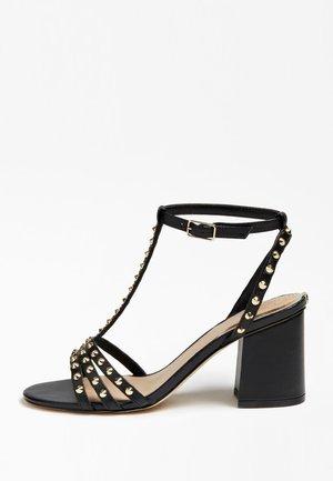MAISA SANDALEN LEDER STUDS - Sandals - black
