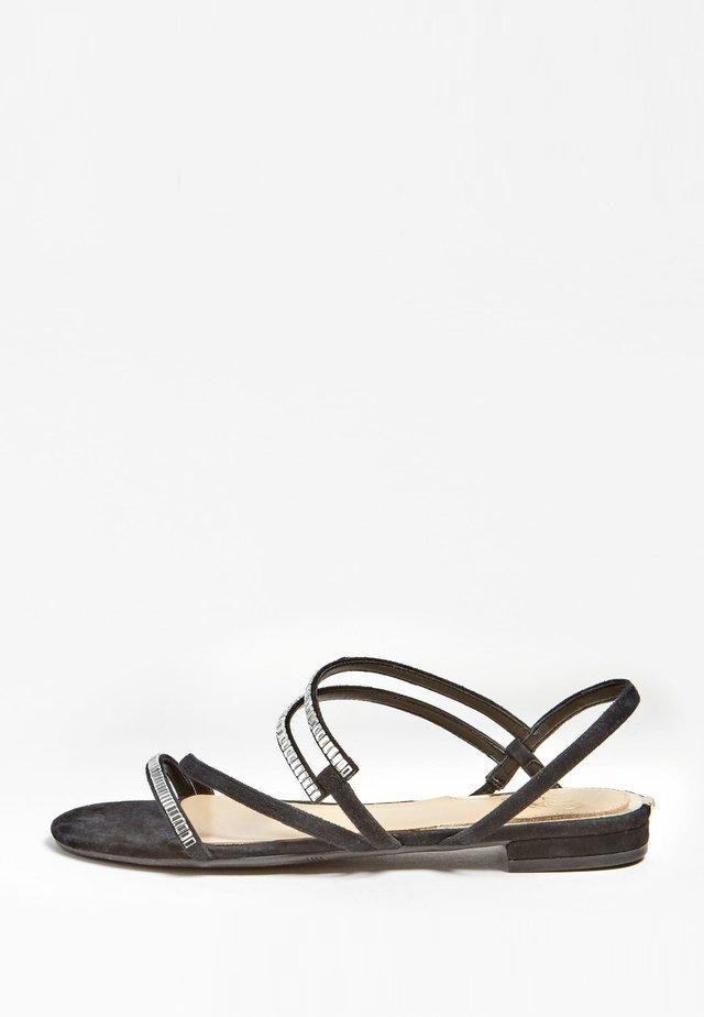 RAVENA LAGE SANDALEN LEDER - Sandals - black