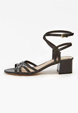 SANDALETTE DARION ECHTES LEDER - Sandals - schwarz