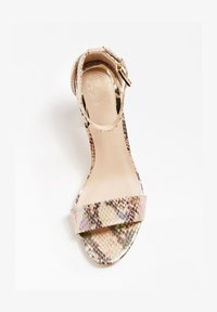 Guess - GUESS SANDALETTE MELISA - High heeled sandals - gemustert multicolor - 1
