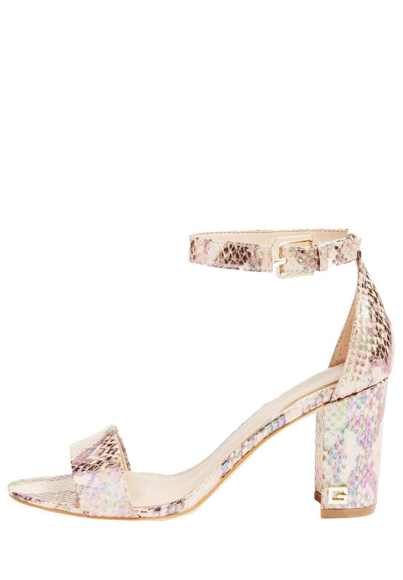 Guess - GUESS SANDALETTE MELISA - High heeled sandals - gemustert multicolor