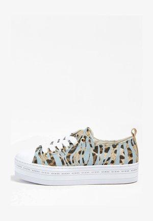 BRIGS MUSTERPRINT - Sneakers basse - animalier