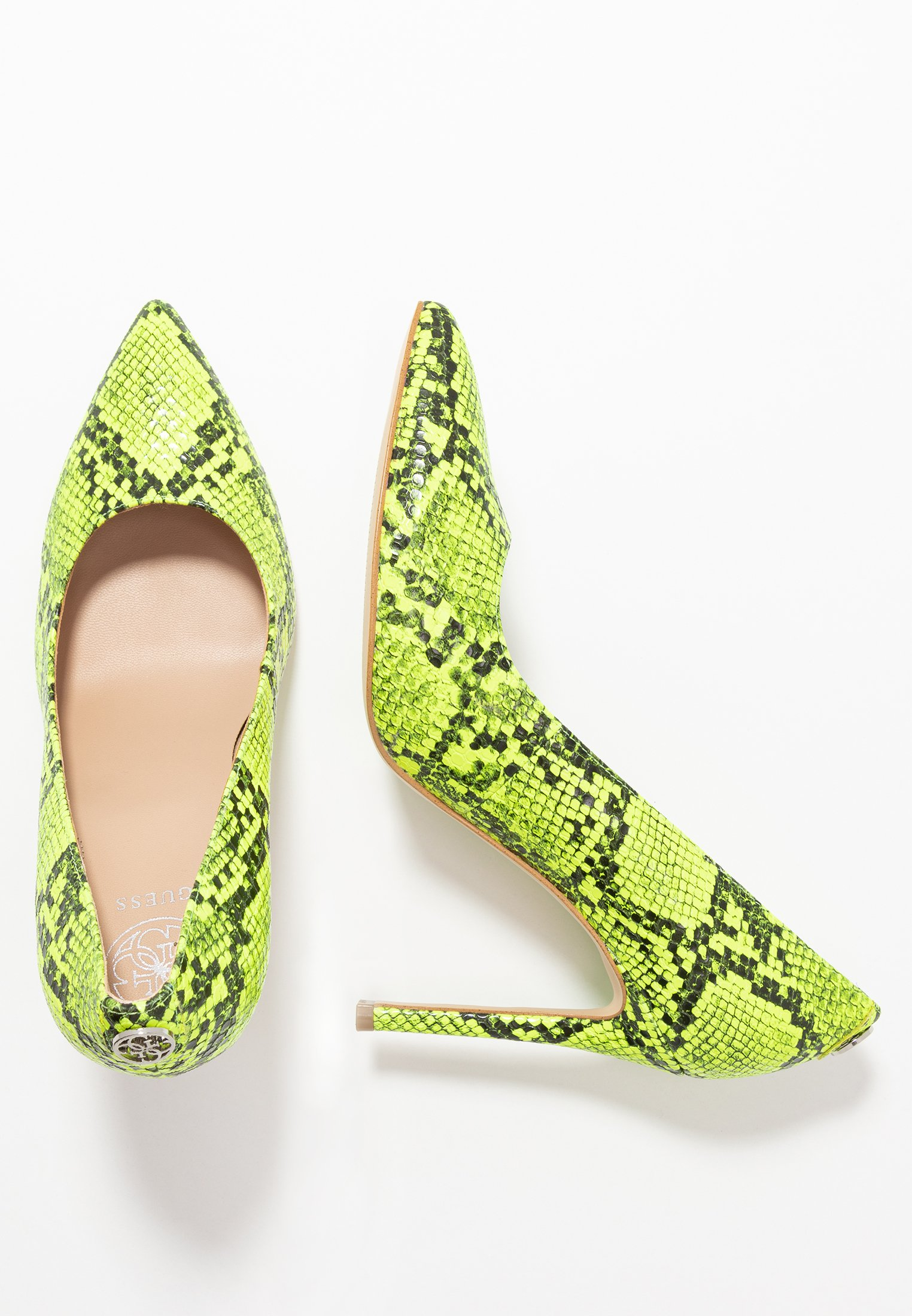Guess Crew - Klassiska Pumps Yellow