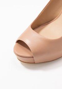 Guess - EDYN - Peeptoe heels - nude - 2