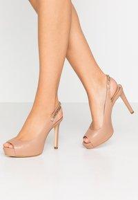 Guess - EDYN - Peeptoe heels - nude - 0