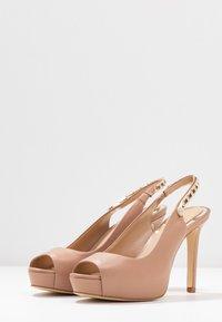 Guess - EDYN - Peeptoe heels - nude - 4
