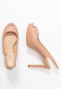 Guess - EDYN - Peeptoe heels - nude - 3