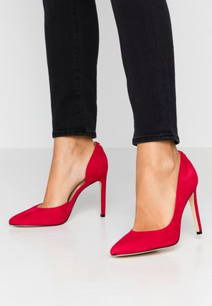 TEDSON - Zapatos altos - red