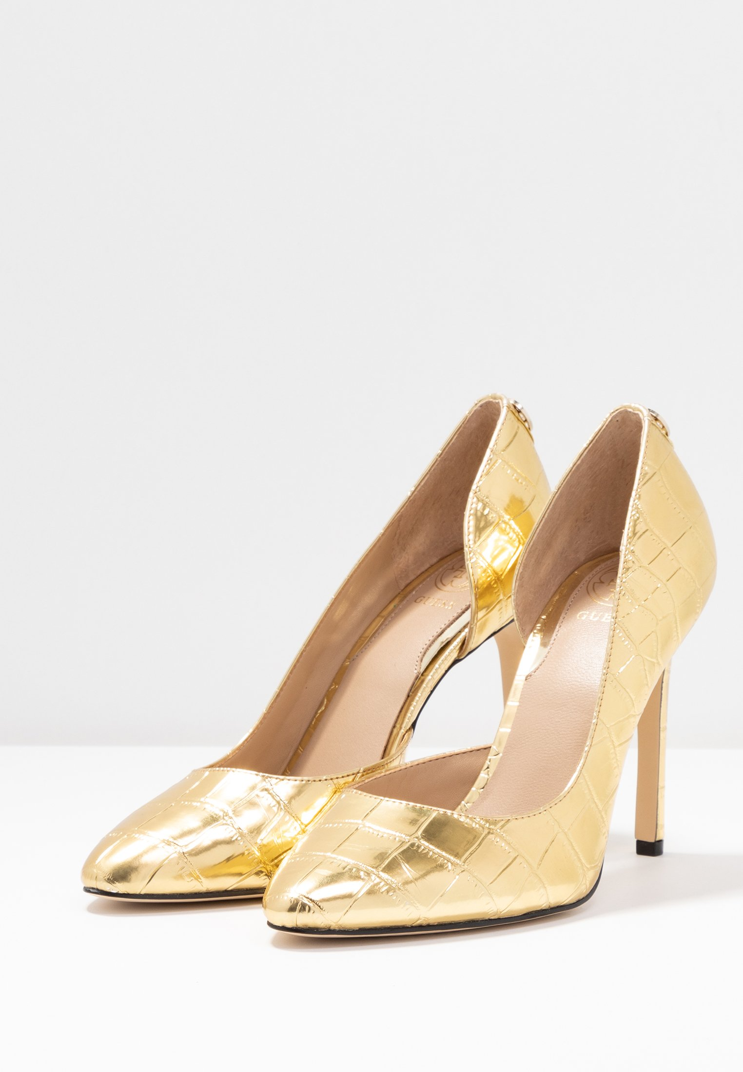 Guess TEDSON - Klassiska pumps - gold