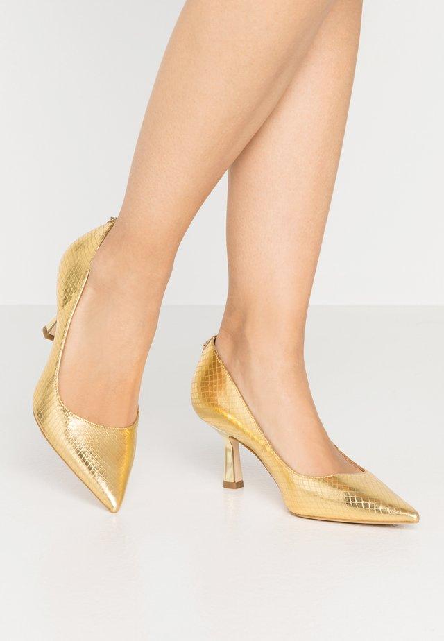 GALYAN - Klassieke pumps - gold