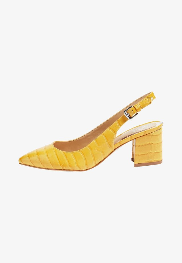 GUESS PUMPS TERNER ECHTES LEDER - Klassieke pumps - yellow