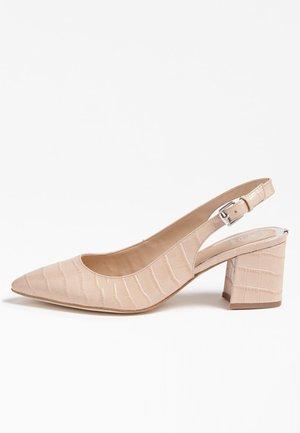GUESS PUMPS TERNER ECHTES LEDER - Classic heels - rosa chiaro