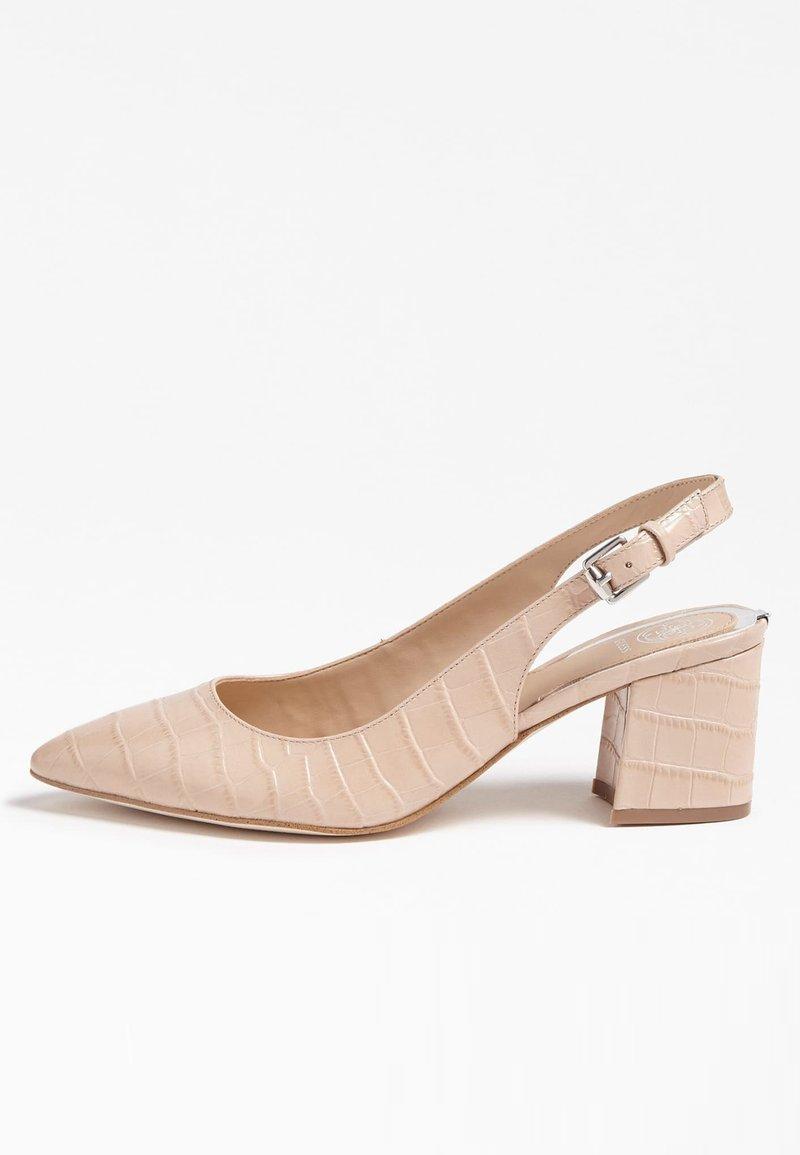 Guess - GUESS PUMPS TERNER ECHTES LEDER - Classic heels - rosa chiaro