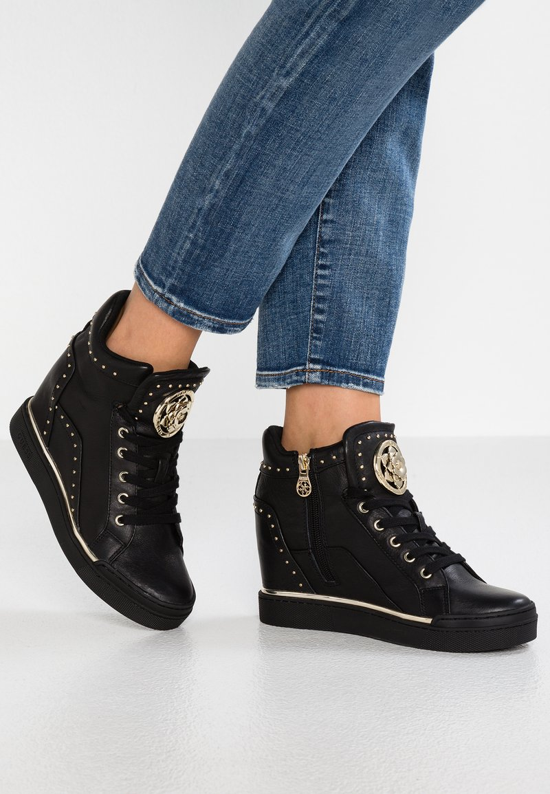 Guess - FINER - Sneakers high - black