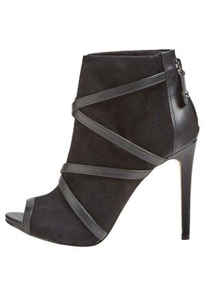 ADALIND - Peeptoe heels - mehrfarbig schwarz
