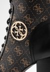 Guess - RURAY - High Heel Stiefelette - black/brass