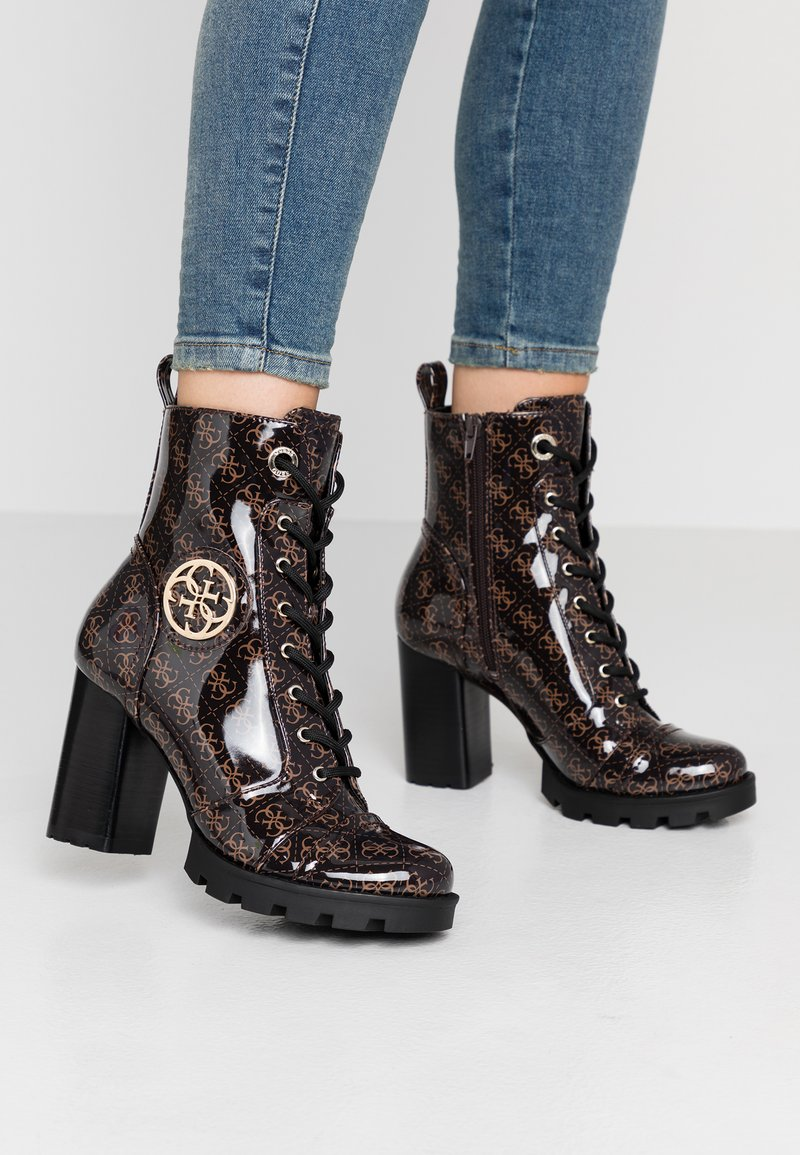 Guess - RURAY - High heeled ankle boots - brown