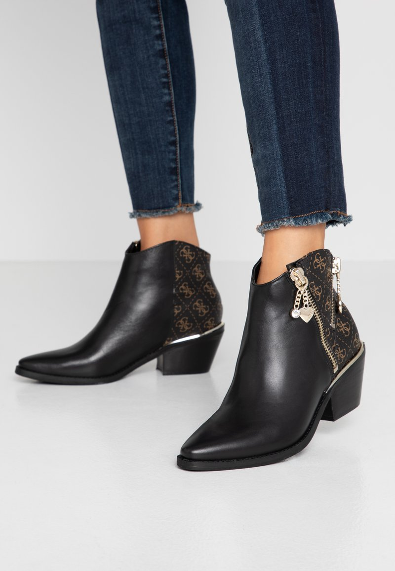 Guess - NEDIVA - Ankle Boot - black/brass