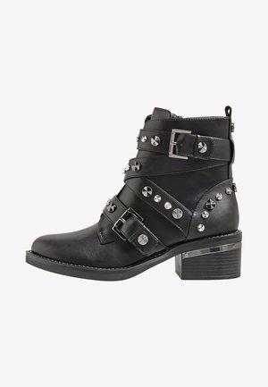 FANCEY  - Kovbojské/motorkářské boty - black