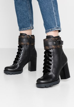 RADELL - High heeled ankle boots - black