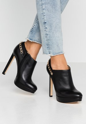 EMSLEY - High heeled ankle boots - black