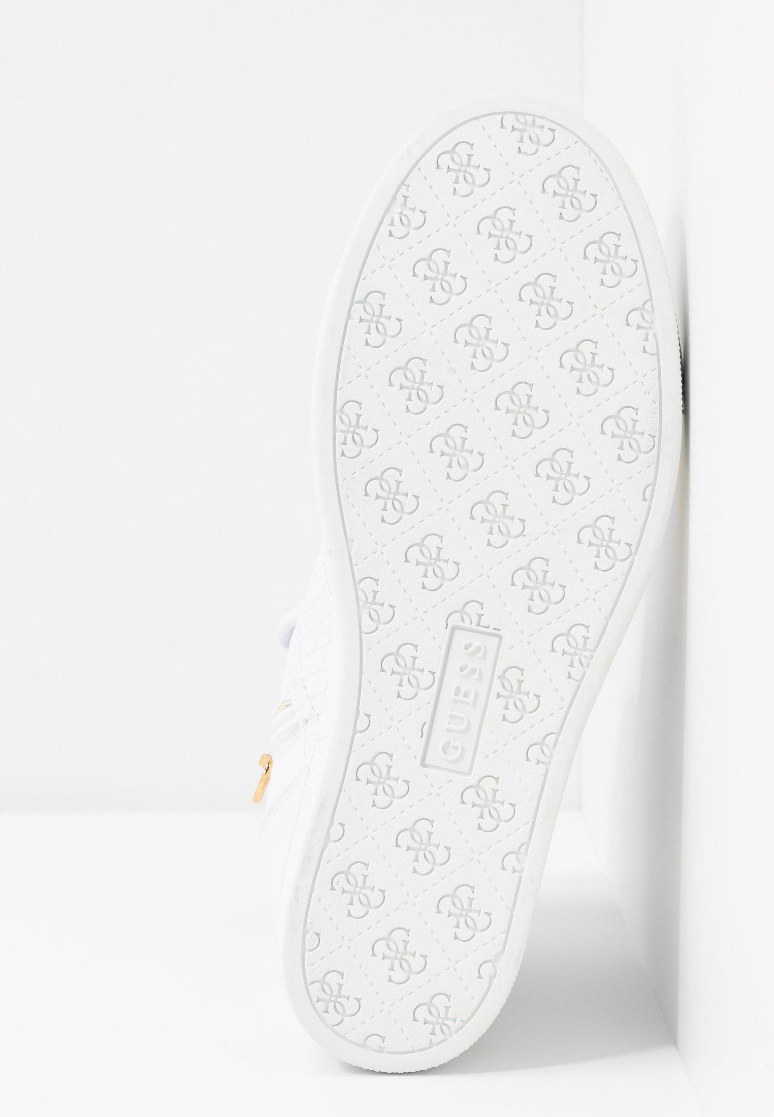 Guess FREETA - Sneaker high - white - Black Friday