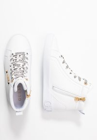 Guess - PORTLY - Sneakers hoog - white - 3